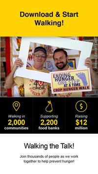 CWS 100 Mile Hunger Walk apk screenshot