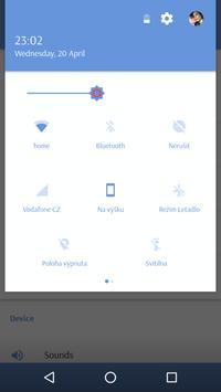 Light Blue CM 12/13 Theme screenshot 1