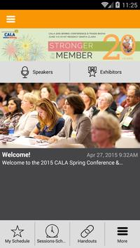 CALA Events poster