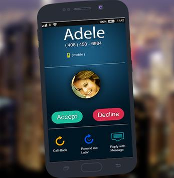 Call Prank from adele screenshot 1