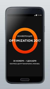 Optimization poster