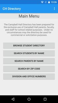 Campbell Hall Directory screenshot 1