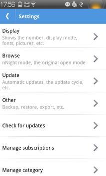 MC RSS Reader apk screenshot