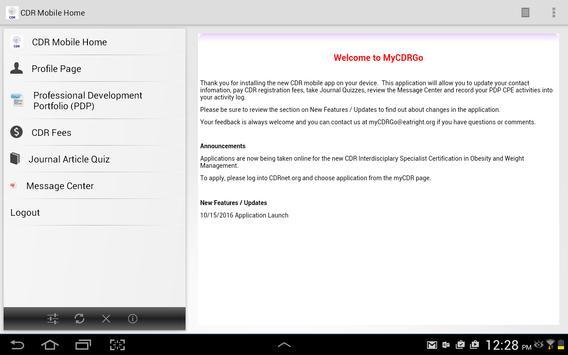 MyCDRGo apk screenshot