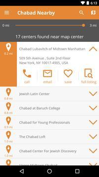 Chabad Nearby screenshot 1