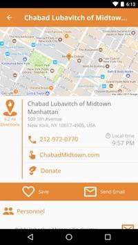 Chabad Nearby screenshot 2