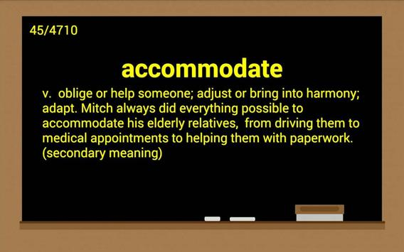 GRE Exam Vocabulary apk screenshot