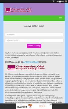 Antalya Arkadaşlık, Antalya Sohbet, Chat screenshot 3