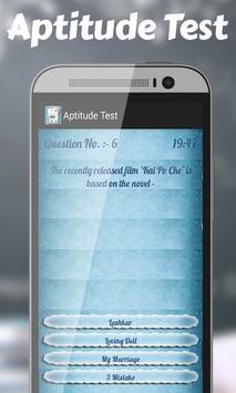 Aptitude Test apk screenshot