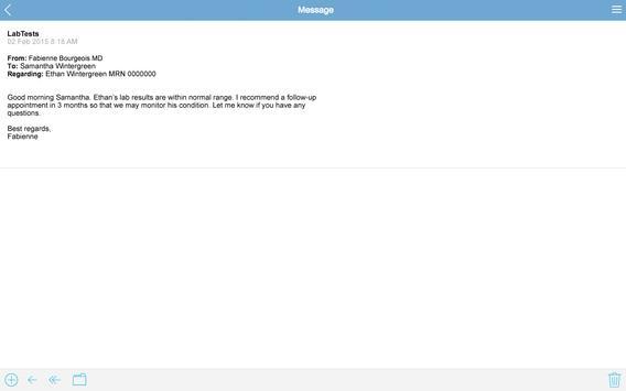 MyChildrens apk screenshot
