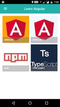 Learn Angular : A Tutorial App poster