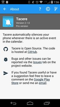 Tacere screenshot 4