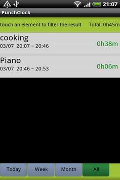 Punch Clock apk screenshot
