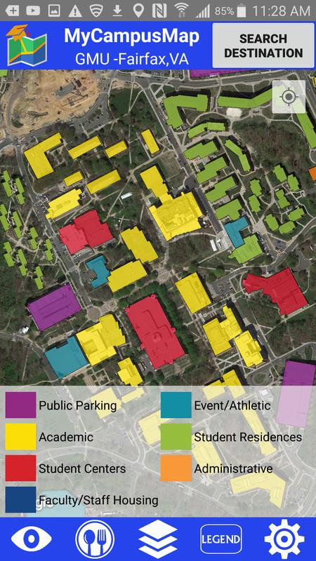 My Campus Map - GMU for Android - APK Download