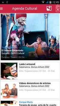 Agenda Cultural de Salamanca apk screenshot