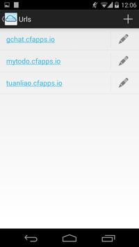 Cloud Foundry v2 apk screenshot