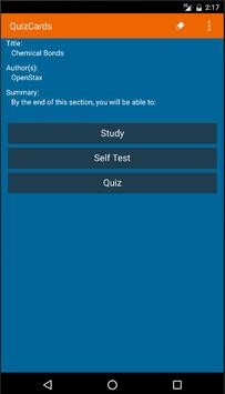 Quiz Cards apk screenshot