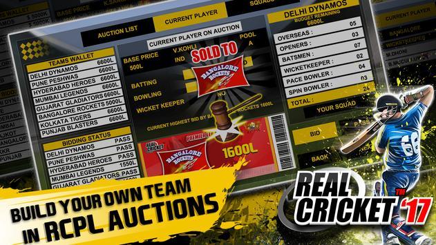 Real Cricket™ 17 apk स्क्रीनशॉट