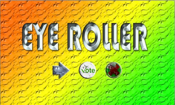 EyeRoller poster