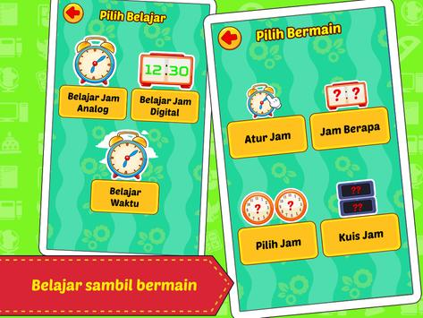 Belajar Jam & Waktu screenshot 10