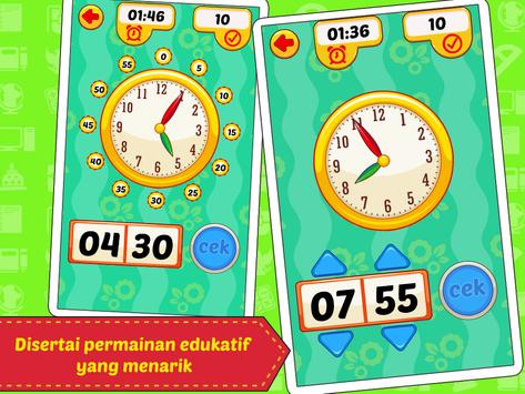 Belajar Jam & Waktu screenshot 3