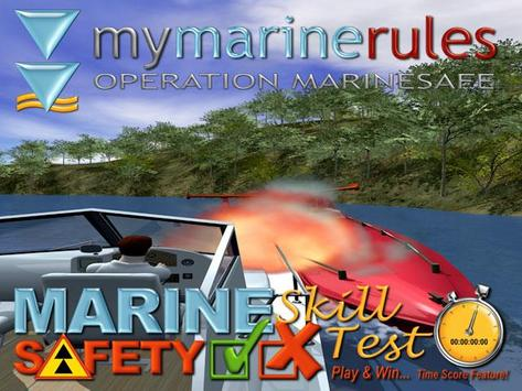 My Marine Rules poster