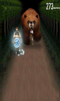 angry bear run 3D screenshot 5