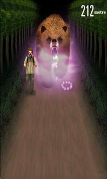 angry bear run 3D screenshot 2