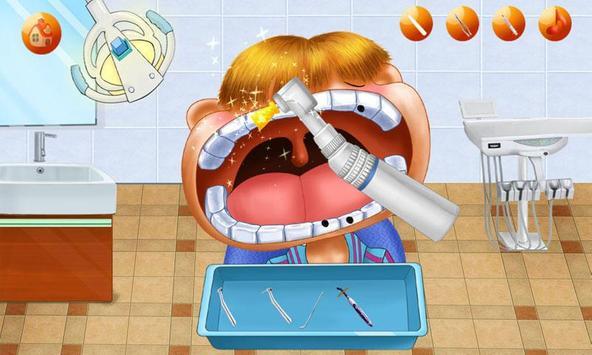 Mad Dentist:Teeth Game Dental Hospital-Kids Doctor poster