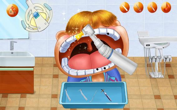 Mad Dentist:Teeth Game Dental Hospital-Kids Doctor screenshot 10