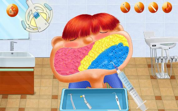Mad Dentist:Teeth Game Dental Hospital-Kids Doctor screenshot 12