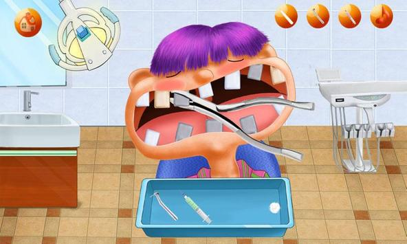 Mad Dentist:Teeth Game Dental Hospital-Kids Doctor screenshot 1