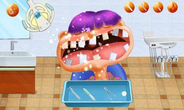 Mad Dentist:Teeth Game Dental Hospital-Kids Doctor screenshot 3