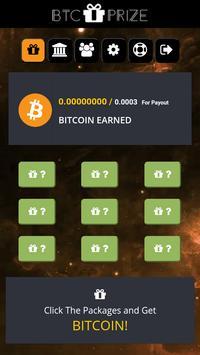 BTC PRIZE - EARN FREE BITCOIN apk screenshot