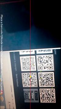 QRcode and Barcode reader apk screenshot