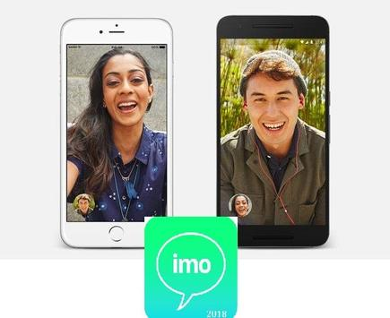 free calls for Imo chat and video . poster