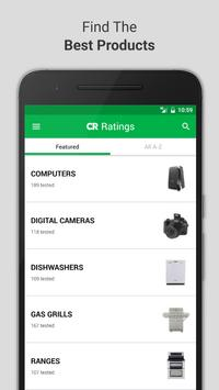 Ratings by Consumer Reports poster