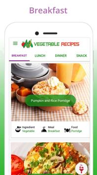 Healthy Vegetable Recipes poster
