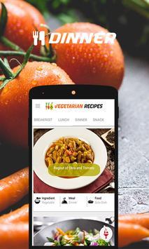 Vegetarian Recipes screenshot 1