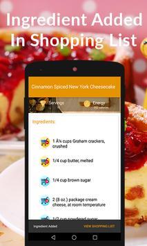 Cheesecake Recipes apk screenshot