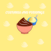 CUSTARD AND PUDDING RECIPES icon