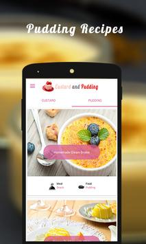CUSTARD AND PUDDING RECIPES screenshot 1
