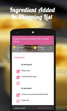 CUSTARD AND PUDDING RECIPES screenshot 3