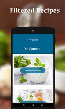 DIP DRESSING AND SAUCE RECIPES apk screenshot
