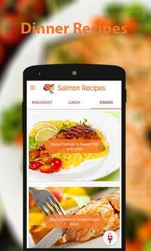 Salmon Recipes Ekran Görüntüsü 1