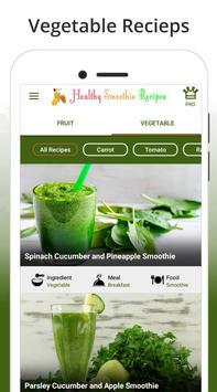 Smoothie Recipes - Healthy Smoothie Recipes screenshot 1