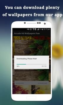 Arcade: Hd Wallpapers free apk screenshot