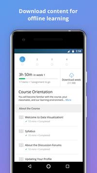 Coursera: Online courses apk screenshot