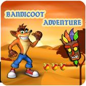 Crazy Bandicoot Adventure icon