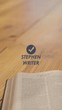 Stephen Writer poster